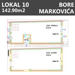 Lokal 10 Bore markovića Beograd