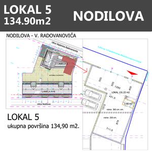 Lokal 5 Nodilova Beograd