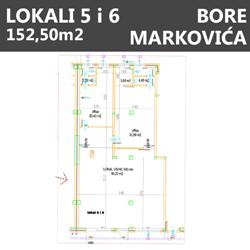 Lokali 5 i 6 Bore markovića Beograd